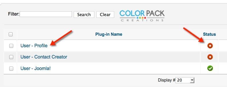 Plug-in User-Profile